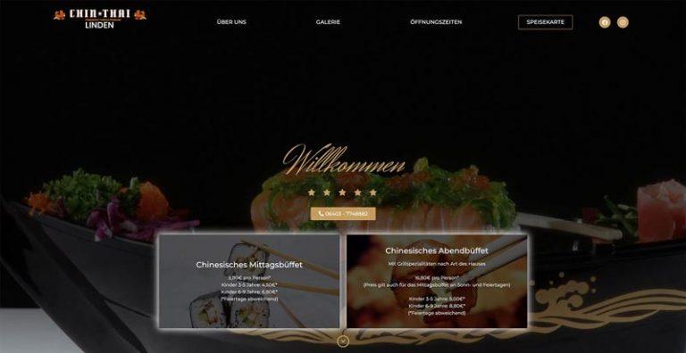 Chin Thai - Webdesign