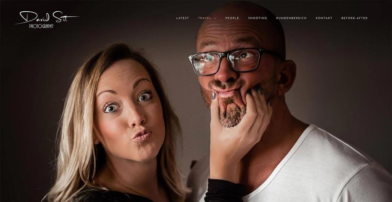 David Sit Photography - Webdesign